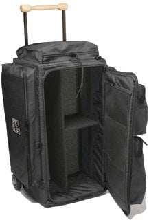 Porta-Brace WPC-2ORB Black Wheeled Production Case with Off-Road Wheels WPC-2ORB