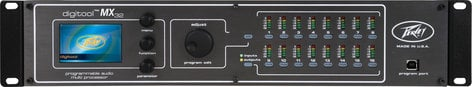 Peavey DIGITOOL-MX32 16 In/16 Out DSP System Processor DIGITOOL-MX32