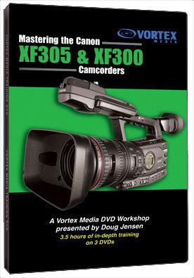 Vortex Media XF3DVD  DVD Master Canon XF305 & XF300  XF3DVD