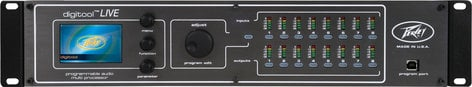 Peavey DIGITOOL-LIVE System DSP Processor 8in 8out DIGITOOL-LIVE