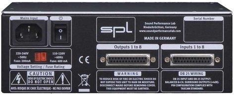 SPL Sound Performance Lab VOLUME8 Volume Contoller, 8ch #2608 VOLUME8