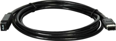 TecNec FWC-9-6-15  Cable Firewire 9pin-6pin,15ft  FWC-9-6-15
