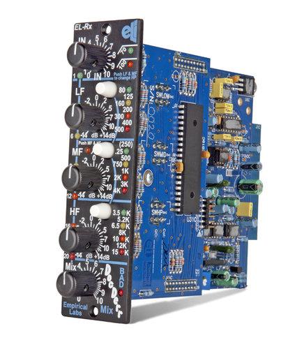Empirical Labs, Inc EL/Rx-V Doc Derr 500 Series Instrument Preamp with Vertical Faceplate ELRX-V-DOCDERR