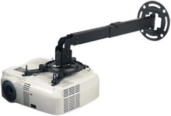 Peerless PPB  Black Universal Extendable Ceiling/Wall Projector Mount PPB