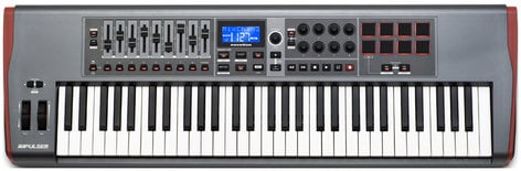 Novation Impulse 61 61-Key USB MIDI Controller Keyboard IMPULSE-61