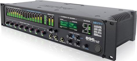 MOTU 896mk3 Hybrid 28x32 FireWire, USB 2 0 Audio Interface With 8 Mic /  Line Inputs And DSP