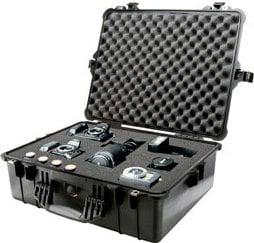 Pelican Cases PC1604-DESERT-TAN Large Desert Tan 1600 Case with Padded Dividers PC1604-DESERT-TAN
