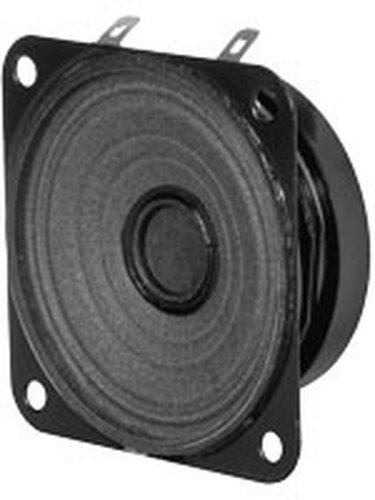 """Quam 4C3Z8OT  4"""" Square, 8 Ohm Moisture Resistant Speaker 4C3Z8OT"""