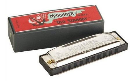 Hohner 34B-BL Old Standby Harmonica 34B-BL