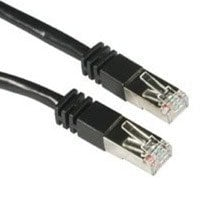 Cables To Go 28711  Shielded Cat5E Molded Patch Cable, 100ft, Black 28711