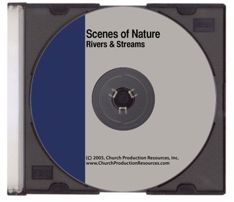 Church Prod. Resources SCENES-RIVERS Scenes of Nature Worship Software - Rivers/Streams Loopable Video Clips SCENES-RIVERS