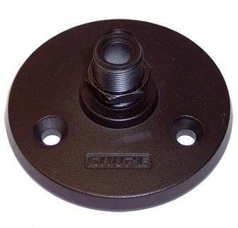Shure A13HDB Heavy Duty Mounting Flange, black finish A13HDB