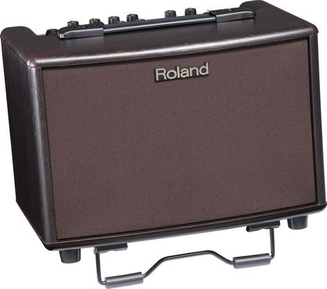 """Roland AC33-RW 2-Ch 30W 2x5"""" Stereo Acoustic Guitar Amplifier with DSP & Rosewood Finish AC33-RW"""