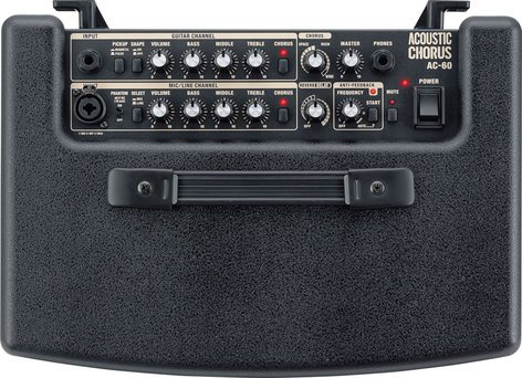 """Roland AC-60 2-Ch 30W 2x6.5"""" Stereo Acoustic Guitar Amplifier with DSP AC60"""