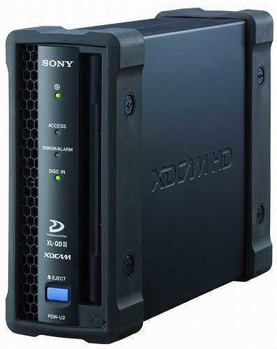 Sony PDW-U2 XDCAM Disc Drive Unit PDWU2