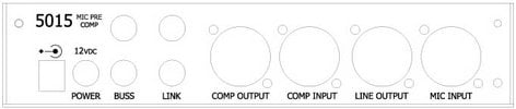 Rupert Neve Designs 5015-H  Single-Channel Horizontal Mic Pre/Compressor 5015-H