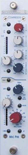 Rupert Neve Designs 5015-V Single-Channel Vertical Mic Pre/Compressor 5015-V