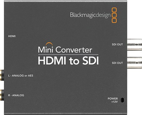 Blackmagic Design CONVMBHS2 HDMI to SDI Mini Converter CONVMBHS2