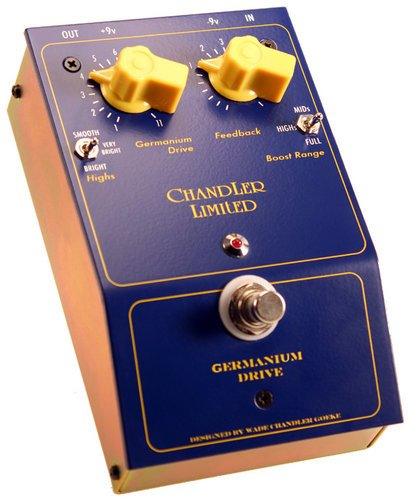 Chandler Limited Germanium Drive Drive Pedal for Guitar GERMANIUM-DRIVE