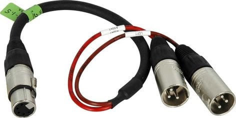 TecNec XLF5-2XLM-1.5  Sony CCXA-53 Equivalent Breakout Cable, 1.5' long XLF5-2XLM-1.5
