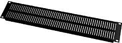 Middle Atlantic Products EVTA2 2-Space Black Anodized Vent Panel EVTA2