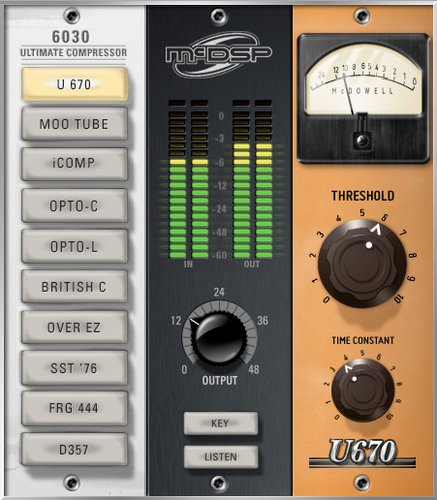 McDSP 6030 Ultimate Compressor HD Compressor Plug-in Bundle 6030-ULTIMATE-CMP-HD