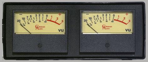 Coleman Audio MBP2 Meter Module Dual VU MBP2