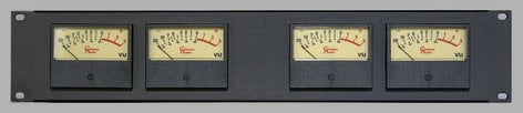 Coleman Audio MBP4  Meter Module Quad VU  MBP4