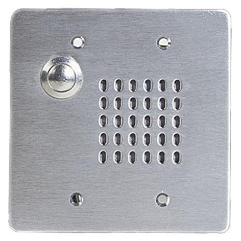 Atlas Sound VPCS-2GPB-2 Vandal Proof Intercom Stations With Cone Loudspeaker, Call Switch and 25V Transformer VPCS-2GPB-2