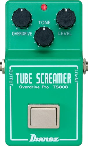 Ibanez TS808 9 Series Tube Screamer Pro Tube Screamer Pro Overdrive Pedal TS808