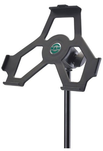 "K&M Stands 19712 iPad Stand Holder - Black 5/8"" 19712"