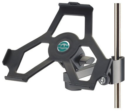 K&M Stands 19722 Microphone Stand Mount for iPad 2 19722