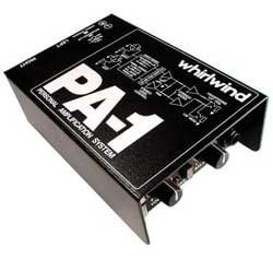 Whirlwind PA1 Headphone Amplifier PA1-WHIRLWIND