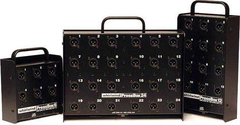 Whirlwind PB12 Press Box, 1 In x 12 Out PB12