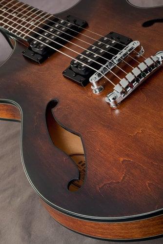 Ibanez AM73B Hollowbody Electric Guitar, Artcore Hollowbody AM73BTF