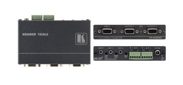 Kramer VP200AK 1:2 Computer Graphics Video & Stereo Audio Distribution Amplifier VP200AK