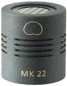 Schoeps MK-22G Open Cardioid Capsule in Matte Gray Finish MK-22G