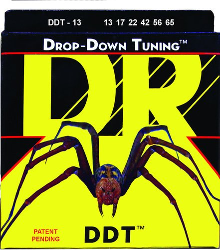 DR Strings DDT13 Mega Heavey Drop-Down Tuning Electric Guitar Strings DDT13