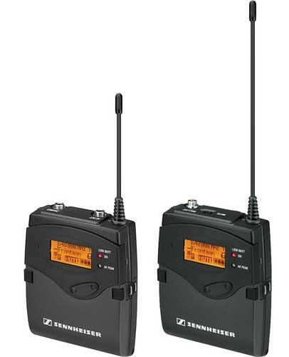 Sennheiser 2000ENG-SK Single Channel Portable ENG Wireless System 2000ENG-SK