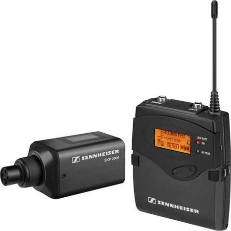 Sennheiser 2000ENG-SKP Single Channel Portable Wireless Mic ENG System 2000ENG-SKP