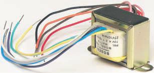 Bogen Communications T725 Speaker Matching Transformer, 4, 2, 1, 1/2, 1/4, 1/8 Watt Taps T725