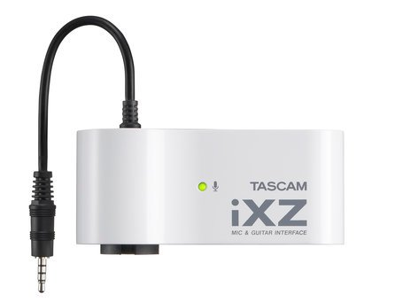 Tascam iXZ Mic/Instrument Interface for iPad/iPhone/iPod Touch IXZ