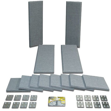 Primacoustic LONDON-8 Broadway Acoustical Panels Room Kit with 4 Control Columns, 8 Scatter Blocks LONDON-8