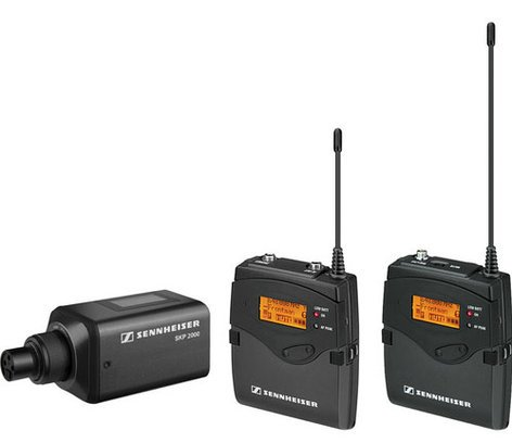 Sennheiser 2000ENG-COMBO Single Channel Portable Wireless ENG System 2000ENG-COMBO