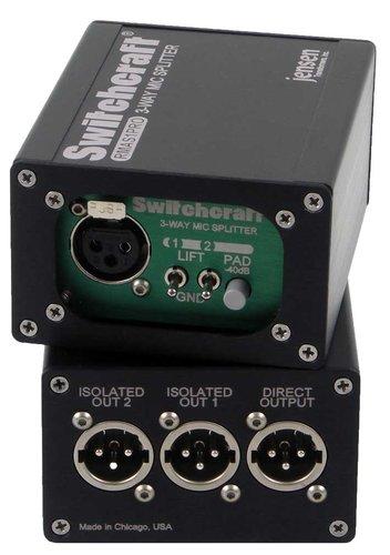 Switchcraft RMAS1 1x3 Mic Splitter RMAS1