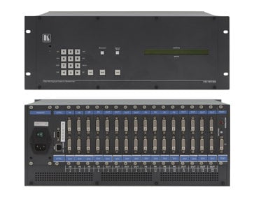 Kramer VS1616D 2x2 to 16x16 Multi-Format Modular Digital Matrix Switcher Chassis VS1616D