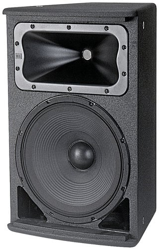 """JBL AC2212/64 12"""" Compact Installed Speaker with 60° x 40° Coverage AC2212/64-BLACK"""