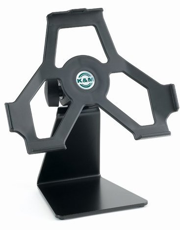 K&M Stands 19752 Tabletop Holder for iPad2  19752