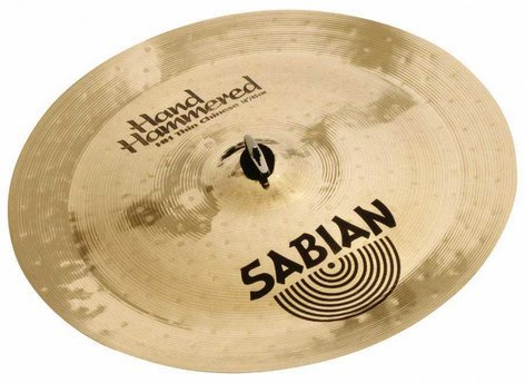 """Sabian 12053 20"""" HH Hand Hammered Thin Chinese Cymbal in Natural Finish 12053"""
