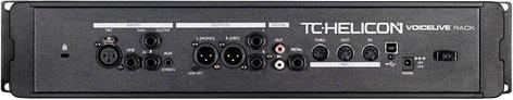 TC Helicon VOICE-LIVE-RACK Processor, Vocal Rack Unit VOICE-LIVE-RACK